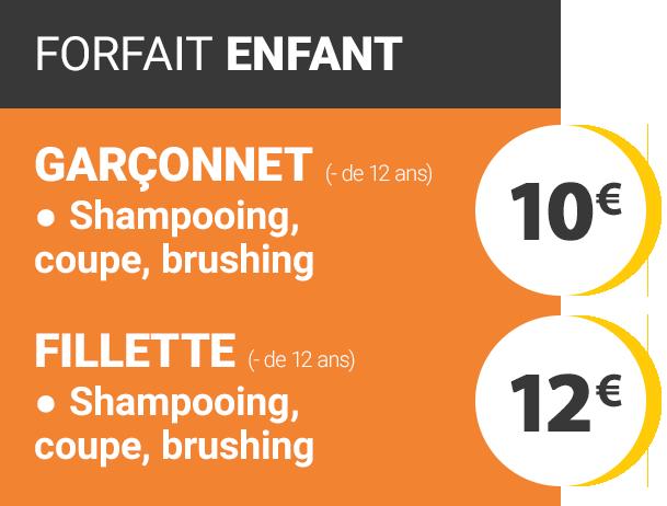 Prix coupe homme shampoo